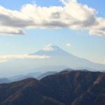 初心者登山の名所、神奈川・大山に登り、高さ1200mからの絶景と紅葉を見てきた。(後半) (2018.11.15)