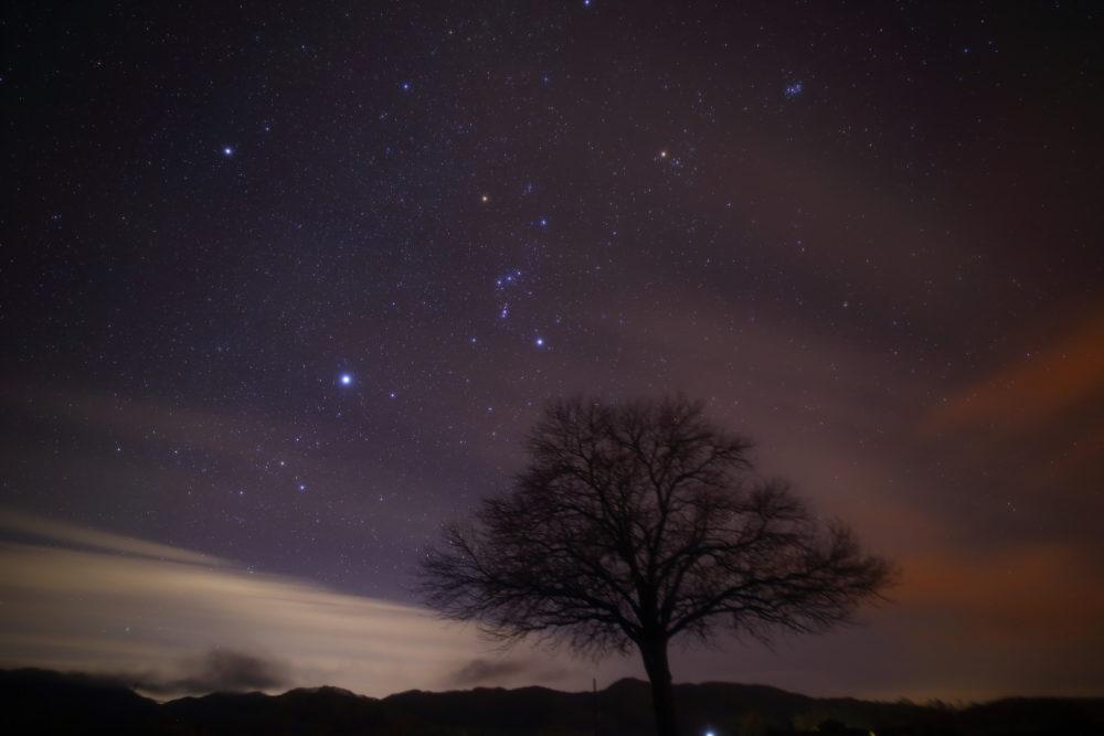 長野で有名な星空スポット野辺山高原にて満天の星の下で天体観測してきた。(2018.12.7)