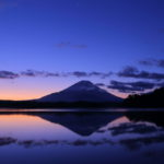 富士五湖の日の出スポット精進湖のアクセス、撮影時の注意点などを紹介(2018.12.16)