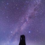 長野の星空スポット、「美しの塔」で天の川写真を撮る。アクセス、服装などの注意点。