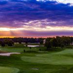 ミシガン州(Michigan)イプシランティ(Ypsilanti)の日の出スポット、マリオットホテルを紹介。