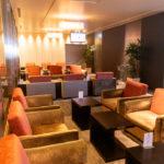 デルタ航空利用で羽田空港TIATラウンジANNEXを満喫する。混雑、座席、食事、シャワーを紹介。