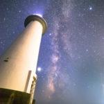 伊豆の星空スポット爪木崎での天の川撮影時の注意点。