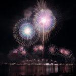 [2018年秋開催]東海地区最大規模の桑名水郷花火大会を隠れ写真スポットなばなの里から撮ってみた。混雑状況、トイレは?(2018.11.24)
