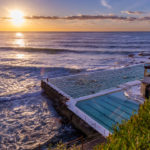 ボンダイビーチで日の出とともに撮るシルエット写真がおススメ!
