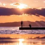 鵠沼海岸の白い杭(ポール)は夏しか見れない?冬でもおすすめのスポットを紹介。