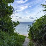 西表島で日の出を見るなら穴場の「中野ビーチ」へ。